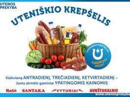 utenos prekyba akcijos)